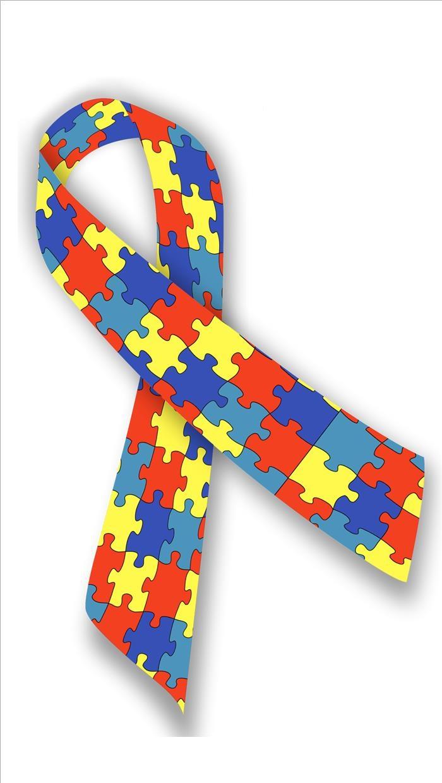 Laço autismo